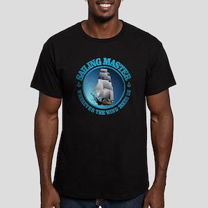Sailing Master Men's Fitted T-Shirt (dark)