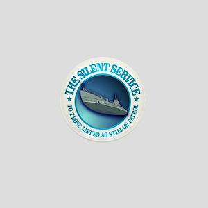 Silent Service Mini Button