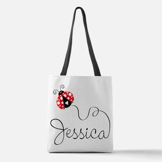 Ladybug Jessica Polyester Tote Bag
