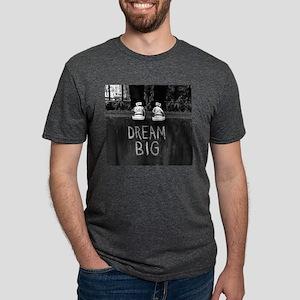 Dream Big Mens Tri-blend T-Shirt
