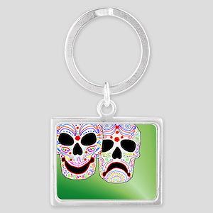 Comitragic DODT Skulls Landscape Keychain