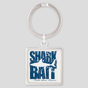 Shark Bait Square Keychain