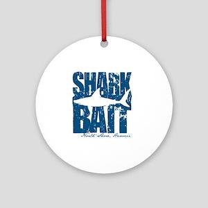 Shark Bait Round Ornament