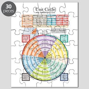 Unit Circle (with Radians) Puzzle