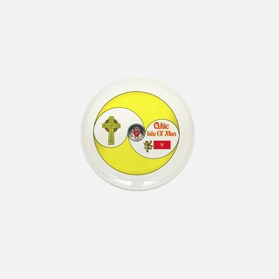 Celtic Manx.:-) Mini Button