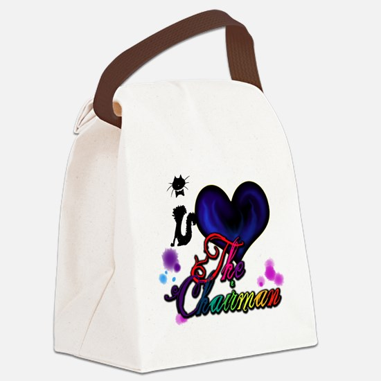 I love The Chairman Canvas Lunch Bag