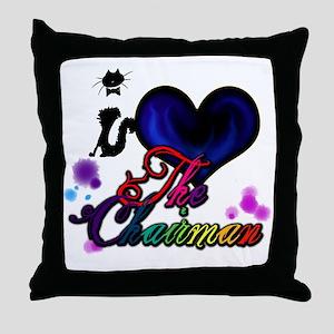 I love The Chairman Throw Pillow