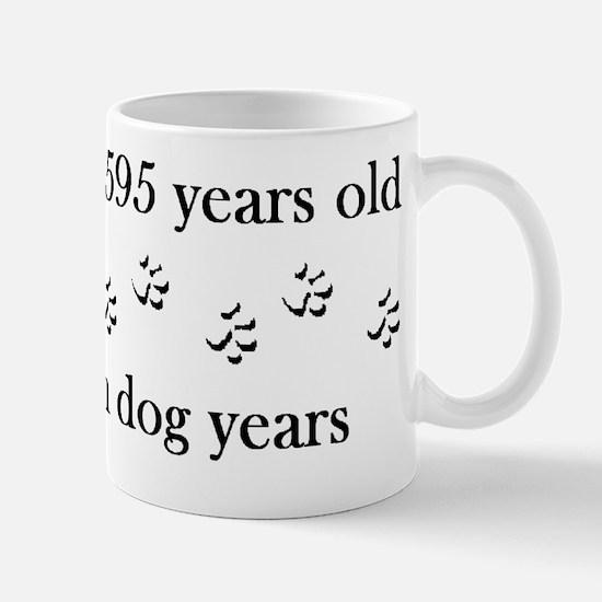 85 birthday dog years 4-1 Mug