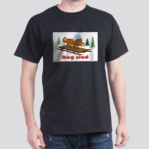 DOG SLED Dark T-Shirt