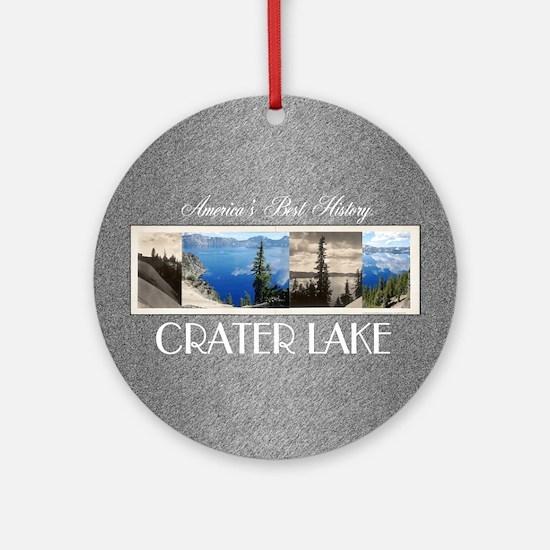 craterlakesq Round Ornament