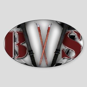 bws huge Sticker (Oval)