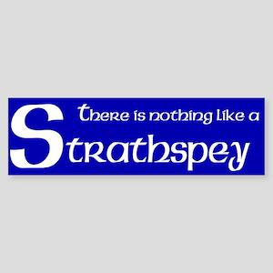 Strathspey Bumper Sticker