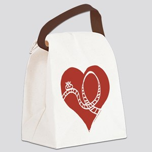 Love - Roller Coasters Canvas Lunch Bag