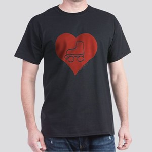 Love - Skates Dark T-Shirt