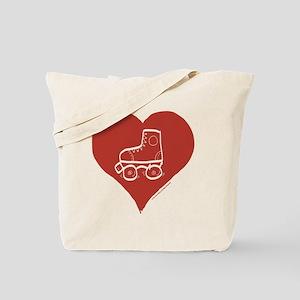 Love - Skates Tote Bag