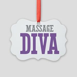 Massage DIVA Picture Ornament