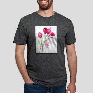 Tulip2a Mens Tri-blend T-Shirt