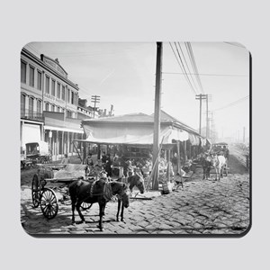 French Market in New Orleans Mousepad