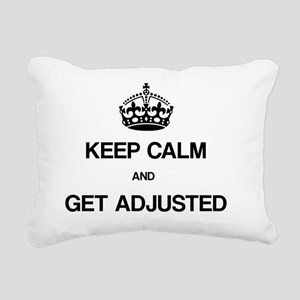 Keep Calm Chiro Rectangular Canvas Pillow