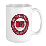 Out In The Park Collegiate Large Mug