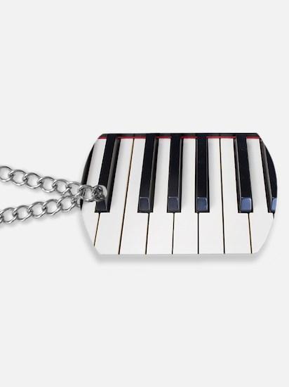 Piano Keys Dog Tags