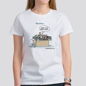 Monday.. Wishing it was Shabbos Ag Women's T-Shirt