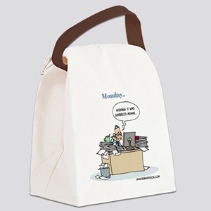 Monday.. Wishing it was Shabbos A Canvas Lunch Bag