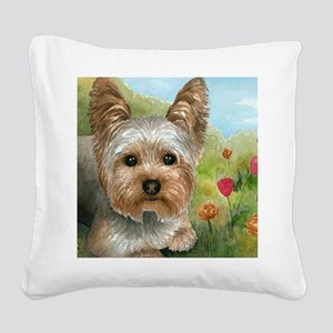 Dog 117 Square Canvas Pillow
