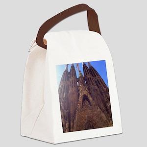 la sagrada familia Canvas Lunch Bag