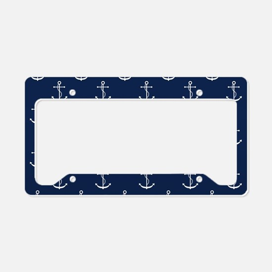 Anchors License Plate Holder
