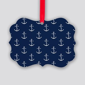 Anchors Picture Ornament