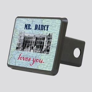 Mr. Darcy Loves You Rectangular Hitch Cover
