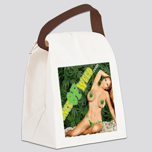 Ounce Of Weed Canvas Lunch Bag