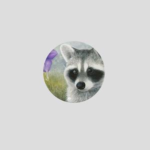 Raccoon 20 Mini Button