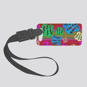 create Reality Small Luggage Tag