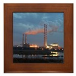 Power to the People Framed Tile