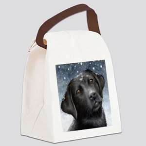Dog 100 Canvas Lunch Bag