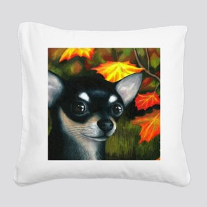 Dog 101 Square Canvas Pillow