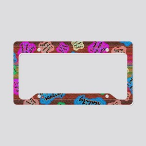 create Reality License Plate Holder