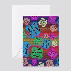 create Reality Greeting Card
