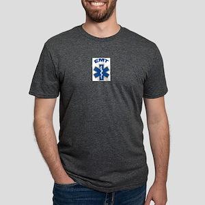 EMTStar1 Mens Tri-blend T-Shirt