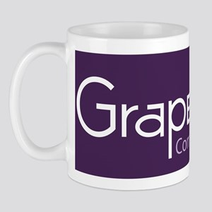 Grape Cat Glass Cutting Board Small Mug