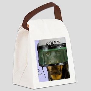 Rottweiler Police Birthday by Foc Canvas Lunch Bag