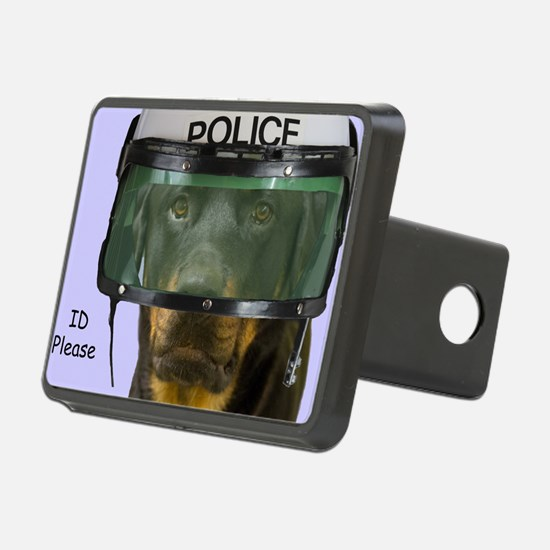 Rottweiler Police Birthday Hitch Cover