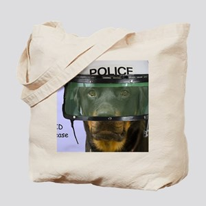 Rottweiler Police Birthday by Focus for a Tote Bag