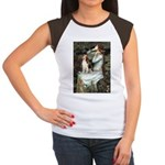 Ophelia & Beagle Women's Cap Sleeve T-Shirt