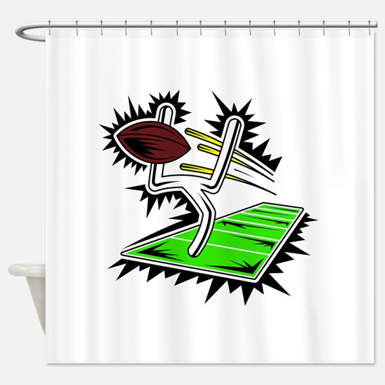 FIELD GOAL Shower Curtain