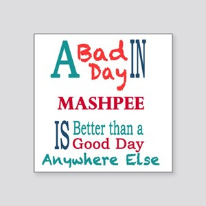 "Mashpee Square Sticker 3"" x 3"""