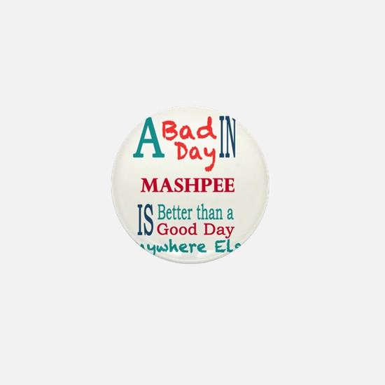 Mashpee Mini Button
