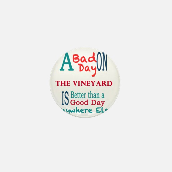 The Vineyard Mini Button